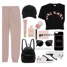 """Comfort is Key: Sweatpants"" by soranamikaze ❤ liked on Polyvore featuring River Island, T By Alexander Wang, Proenza Schouler, STELLA McCARTNEY, rag & bone, AERIN, Gucci, NARS Cosmetics, sweatpants and contestentry"