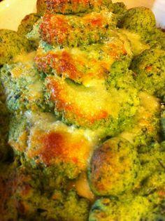 gnocchi di semolino alla fiorentina