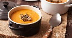 Ricette vegetariane - Vellutata di ceci, zucca e pere - Vegolosi