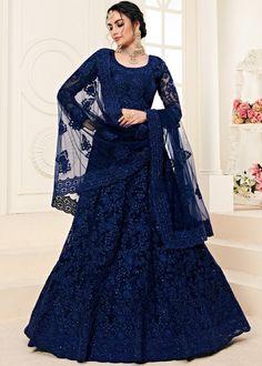Green Lehenga, Net Lehenga, Bridal Lehenga Choli, Indian Lehenga, Ghagra Choli, Bollywood Dress, Pakistani Dresses, Stone Work Blouse, Leelah