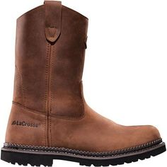 630025 LaCrosse Men's Foreman Safety Boots - Brown