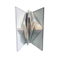 EKG Book folding Heart line Heart Beat EEG ecg DIY Book Folding Patterns, In A Heartbeat, Wedding Anniversary, Beats, Book Art, Origami, How To Memorize Things, Valentines, Heart Beat