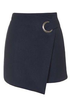 Photo 1 of Eyelet Wrap Mini Skirt topshop Blouse And Skirt, Skirt Pants, Dress Skirt, Work Skirts, Cute Skirts, Look Fashion, Fashion Outfits, Fashion Design, Textiles Y Moda