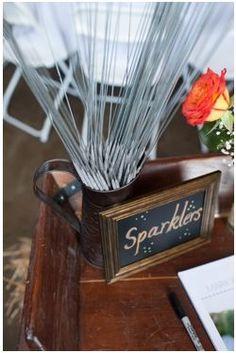 #sparklers, #weddingexit