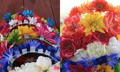 Flex wrap flower cro