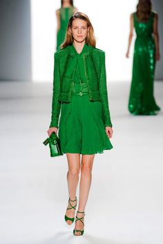 Matchy-matchy green. #emerald