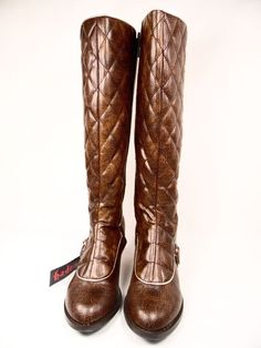 Hades Victoriana Women's  Boots Brown Steampunk Alternative Size 7 #Hades #boots