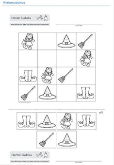 Sudoku Puzzles, Word Puzzles, Halloween Craft Activities, Book Activities, Math For Kids, Puzzles For Kids, Halloween Kids, Halloween Crafts, Anterior Y Posterior