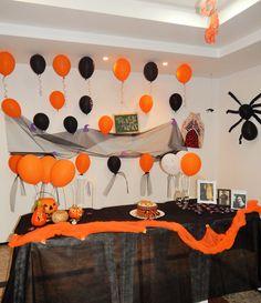 Decoração de Halloween!