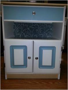 bathroom cabinet redo on pinterest