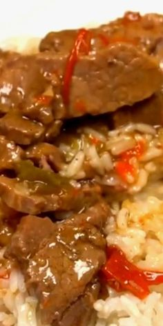 Crockpot Pepper Steak  Looking for an smooth crock pot recipe? This Crockpot Pepper Steak Recipe is delicious! Easy pepper steak recipe tastes first rate in the crock pot. Try this crock pot Chinese pepper steak recipe today! #eatingonadime #crockpotrecipes #slowcookerrecipes #crockpot #slowcooker #beefrecipes #recipes #drink >> #cookies >> #pasta >> #meals Steak Recipes, Slow Cooker Recipes, Crockpot Recipes, Crock Pot Chinese, Chinese Pepper Steak, Crockpot Pepper Steak, Pasta Meals, My Best Recipe, Recipe Today