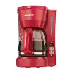 My Red Coffee Maker. Other things I'd take with me to school, along with my Ultrabook