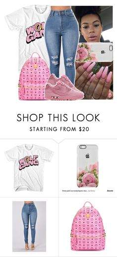 """""""pnb rock ~ questions"""" by daeethakidd ❤ liked on Polyvore featuring MCM and NIKE"""