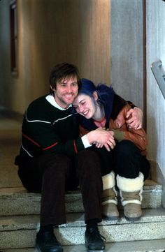 Eternal Sunshine of the Spotless Mind Dir. Michel Gondry with Jim Carrey and Kate Winslet True Romance, Romance Movies, Love Film, Love Movie, Series Movies, Film Movie, Clementine Eternal Sunshine, Meet Me In Montauk, Funny Celebrity Pics