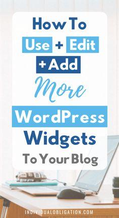 Wordpress For Beginners, Learn Wordpress, Wordpress Plugins, Blogging For Beginners, Wordpress Theme, Wordpress Admin, Onpage Seo, Web Design, Blog Planning