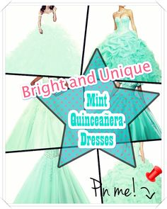 Choosing The Best Mint Quinceanera Dress Mint Quinceanera dress - The largest part of the quinceanera for a girl turning fifteen will be the dress! The most perfect quinceanera gown makes the birthday girl feel like princess. Mint Quinceanera Dresses, Coming Of Age, Special Day, Girl Birthday, American Girl, Wedding Day, Fancy, Good Things, Gowns