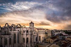 Igreja do Carmo [ruínas] - Lisboa Portugal, Louvre, Building, Travel, Beauty, Lisbon, Photos, Viajes, Buildings