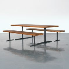 Coventry Table and Bench Bases with Heart Pine