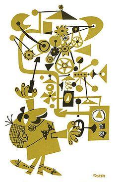 Jerry Smath machine illustration, 1961