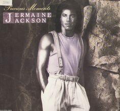 Jermaine Jackson Precious Moments Vinyl LP Record Album