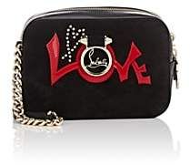 a75fc2404d Christian Louboutin Rubylou Suede   Leather Crossbody Bag