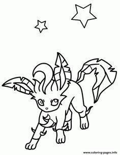 Print Pokemon Eevee Evolutions coloring pages | Pokemon | Pinterest ...