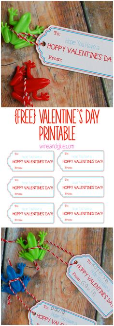 {FREE} Valentine Printable | Have a Hoppy Valentine's Day Printable!