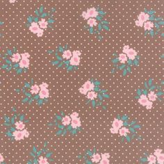 Moda Fabrics MKS2891-15 Kindred Spirits Brown by Bunny Hill Designs // Moda at Juberry Fabric