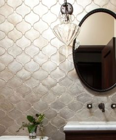 mother of pearl arabesque tiles - Google Search