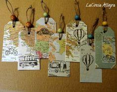 La Cincia Allegra: le tag del viaggiatore (con piccolo DIY)