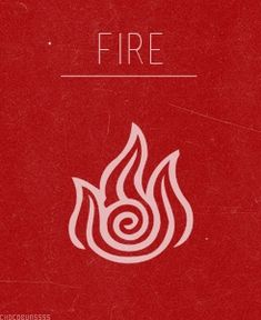 Celtic Element Symbol - Fire