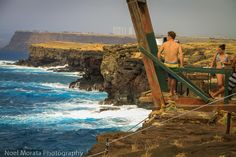 The southern most tip of Hawaii,Travel Photo Mondays #southpoint #bigisland #hawaii