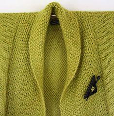 Foto af kort, lime jakke i Alpaca og Vivaldi Knitted Shawls, Knitting, Sweaters, Fashion, Nightgown, Cast On Knitting, Knit Shawls, Moda, Tricot