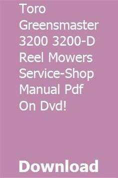 John Deere Operators Manual for 32LS /& 38LS Lawn Sweepers OMTY21591 Issue C0