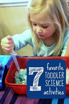 7 TODDLER SCIENCE ACTIVITIES
