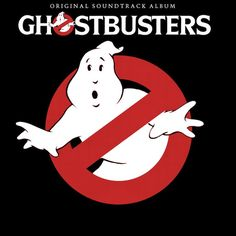"""""""Ghostbusters"""" (1984, Arista).  Music from the movie soundtrack."""