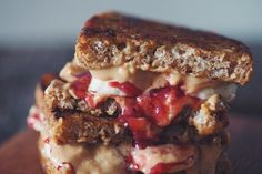 PB & J banana french toast sandwich - this one's a weekend indulgence you won't regret!
