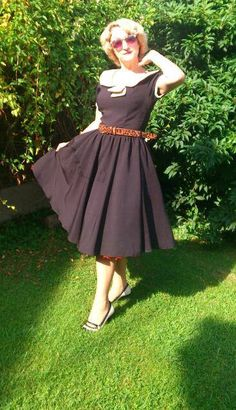 Lindy Bop Clothing and the  ODETTE  again ...1950 classy style vintage 17b9cef9fe