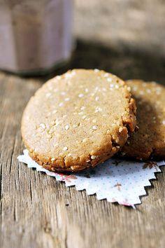 le ricette naturali di tippitappi: Biscotti dolci al sesamo