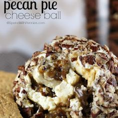 Gooey Pecan Pie Cheese Ball