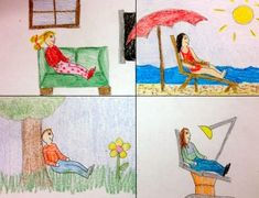 """show kids how important setting is to a story - great """"mystery"""" drawing activity...Love this!"""