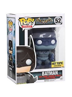 Funko Batman Arkham Asylum Pop! Batman (Distressed) Vinyl Figure Hot Topic Exclusive,