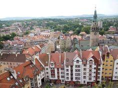 Twierdza Kłodzko - widok na miasto