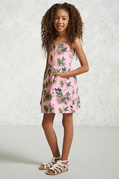 Girls Tropical Dress (Kids)