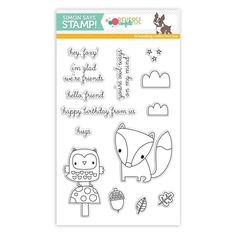 **** Ideas for using my Forest Friends (SU) stamp set***