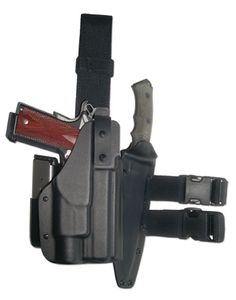 Level II Thigh Rig Weapon & Tactical Light Holster :: Tactical Thigh Holsters :: Blade-Tech Industries