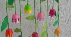 Aus der Kreativwerkstatt Sehen diese Blumen nicht zauberhaft aus? Als Deko am Fenster, oder an einem Ast läuten sie den Frühling ein. J...