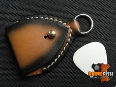 Guitar Pick Case, Leather Picks Case, Guitar Player Gift, Gift For The Musician, Vintage Style