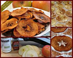 Peace, Love, and Low Carb: Pumpkin Spice Apple Chips