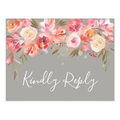 Get your hands on a customizable Wedding postcard from Zazzle. Find a large selection of sizes and shapes for your postcard needs! Wedding Rsvp, Floral Wedding, Diy Wedding, Autumn Wedding, Spring Wedding, Wedding Response Cards, Romantic Gifts, Postcard Size, Paper Texture